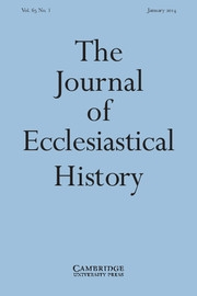 The Journal of Ecclesiastical History Volume 65 - Issue 1 -