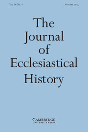 The Journal of Ecclesiastical History Volume 66 - Issue 4 -