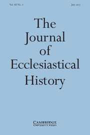 The Journal of Ecclesiastical History Volume 68 - Issue 3 -
