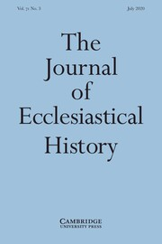 The Journal of Ecclesiastical History Volume 71 - Issue 3 -