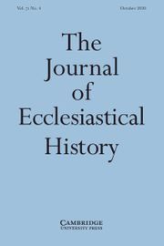 The Journal of Ecclesiastical History Volume 71 - Issue 4 -