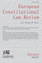 European Constitutional Law Review