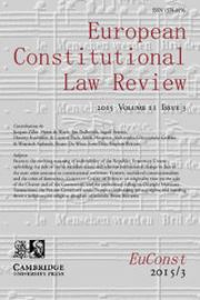 European Constitutional Law Review Volume 11 - Issue 3 -