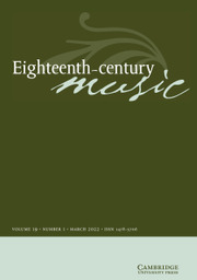Eighteenth-Century Music