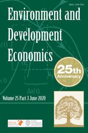 Environment and Development Economics Volume 25 - Issue 3 -