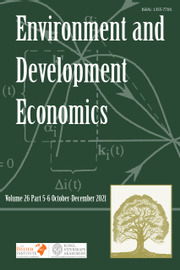 Environment and Development Economics Volume 26 - Special Issue5-6 -  Weather and Climate Impacts in Developing Countries