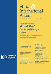 Ethics & International Affairs Volume 29 - Issue 3 -