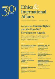Ethics & International Affairs Volume 30 - Issue 2 -
