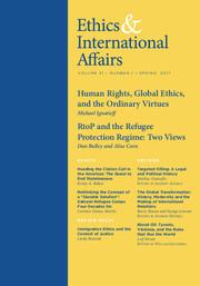 Ethics & International Affairs Volume 31 - Issue 1 -