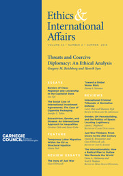 Ethics & International Affairs Volume 32 - Issue 2 -