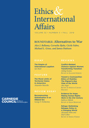 Ethics & International Affairs Volume 32 - Issue 3 -