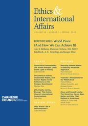 Ethics & International Affairs Volume 34 - Issue 1 -