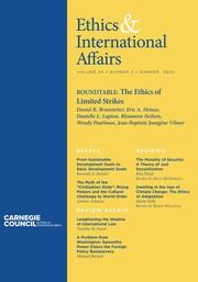 Ethics & International Affairs Volume 34 - Issue 2 -