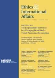 Ethics & International Affairs Volume 35 - Issue 2 -