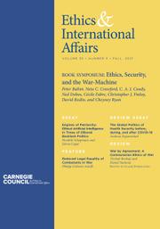 Ethics & International Affairs Volume 35 - Issue 3 -