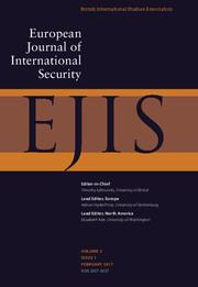 European Journal of International Security Volume 2 - Issue 1 -
