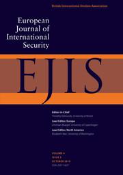 European Journal of International Security Volume 4 - Issue 3 -
