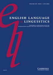 English Language & Linguistics