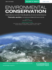 Environmental Conservation Volume 45 - Issue 2 -  Thematic section. Humans and Island Environments