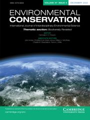 Environmental Conservation Volume 47 - Issue 4 -