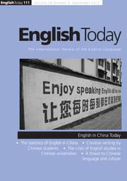 English Today Volume 28 - Issue 3 -
