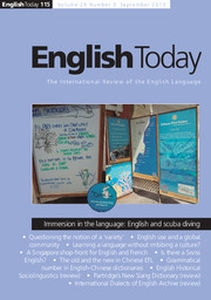 English Today Volume 29 - Issue 3 -