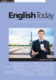 English Today Volume 33 - Issue 4 -