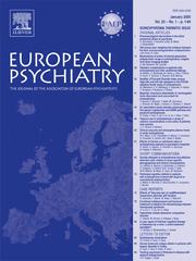 European Psychiatry Volume 20 - Issue 1 -