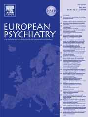 European Psychiatry Volume 20 - Issue 3 -