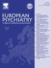 European Psychiatry Volume 20 - Issue 7 -