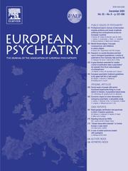 European Psychiatry Volume 20 - Issue 8 -