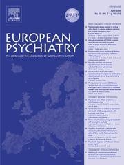 European Psychiatry Volume 21 - Issue 3 -