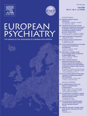 European Psychiatry Volume 21 - Issue 4 -