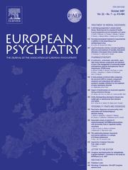 European Psychiatry Volume 22 - Issue 7 -