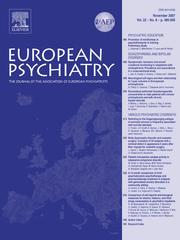 European Psychiatry Volume 22 - Issue 8 -