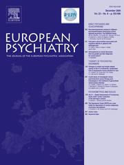 European Psychiatry Volume 23 - Issue 8 -