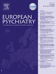 European Psychiatry Volume 24 - Issue 2 -