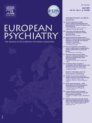 European Psychiatry Volume 24 - Issue 3 -