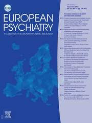 European Psychiatry Volume 26 - Issue 6 -