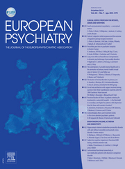 European Psychiatry Volume 26 - Issue 7 -