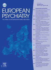 European Psychiatry Volume 26 - Issue 8 -