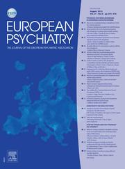European Psychiatry Volume 27 - Issue 6 -