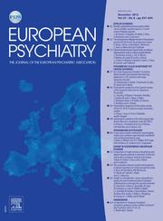 European Psychiatry Volume 27 - Issue 8 -