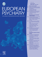 European Psychiatry Volume 29 - Issue 1 -