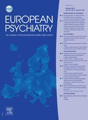 European Psychiatry Volume 29 - Issue 8 -