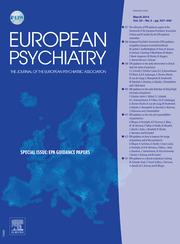 European Psychiatry Volume 30 - Issue 3 -  Special issue: EPA Guidance papers