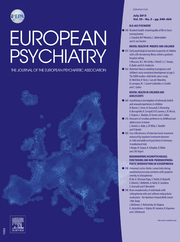 European Psychiatry Volume 30 - Issue 5 -