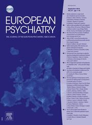 European Psychiatry Volume 37 - Issue  -
