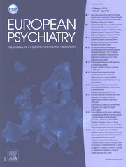 European Psychiatry Volume 48 - Issue 1 -