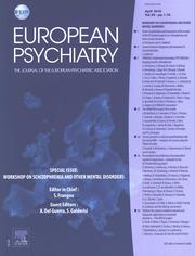 European Psychiatry Volume 50 - Issue  -
